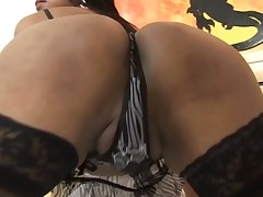 Sexy t-girl fucks like hell & milks her partner absolutely dry